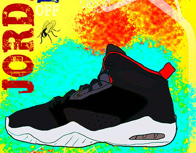 Nike - Jordan Lift Off Sneaker Illustration