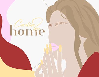 Caroline Jop - home | lyric video + illustrations