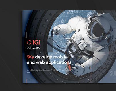 IGI Software - Presentation of company (Graphic)