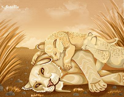 smilodon illustration