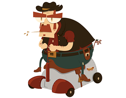 'Murica! - Character Design