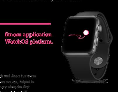 Fitness App | UX/UI | Apple watchOS | 2019