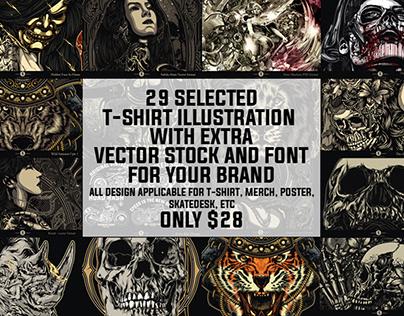 29 selected grunge illustration