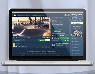 UI/UX Design for Streaming Platform
