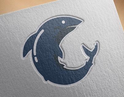 C - Shark Logo