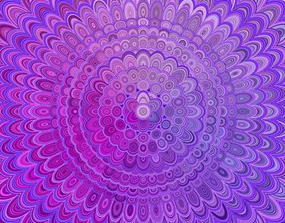 6 Floral Mandala Backgrounds