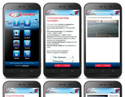 Mobile Site Design Nissakia