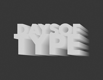 Days of Type /