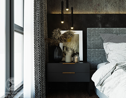 BEDROOM 1 - INDUSTRIAL STYLE