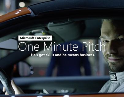 Microsoft Enterprise 'One Minute Pitch'