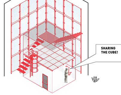 Sharing the cube! - Le Corbusier