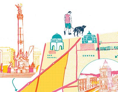 Mapas Ciudad de México (revista chilango)