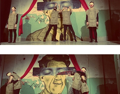 Apprentice`s dream / Streetart-theatre performance