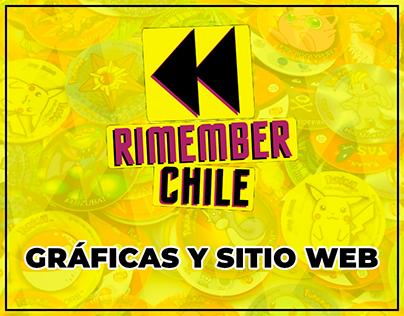 Rimember Chile | Redes Sociales y Sitio Web