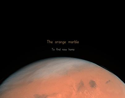 The Orange marble