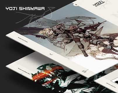 Yoji Shinkawa - website
