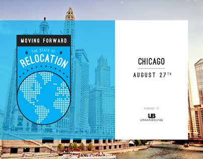 Event Branding // The State of Relocation