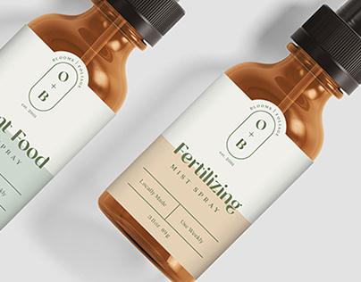 Olive+Botanic Branding