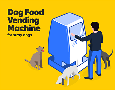 Dog Food Vending Machine for Stray Dogs