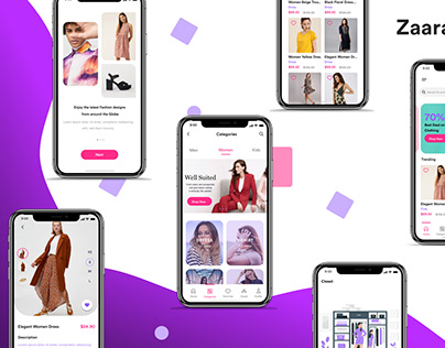 Fashion ecommerce UI Kit