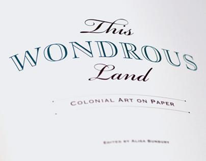 THIS WONDROUS LAND