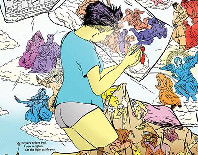 """New Malleable"" - an original, soft sci-fi comic series"