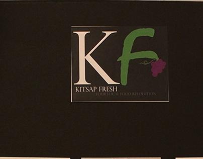Kitsap Fresh Logo design