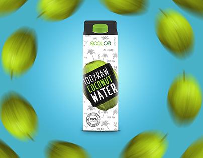 Qoolco Coconut water