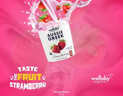 Wallaby Yogurtstrawberry