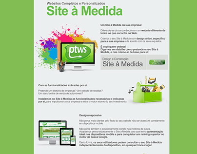 PTWS - Site à Medida