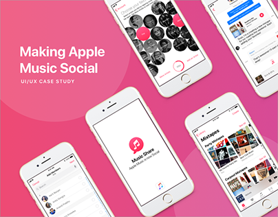 Apple Music | Social Sharing Feature | UI/UX Design