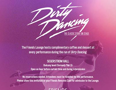 Dirty Dancing invitation