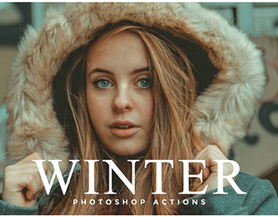 50 Winter Photoshop Actions