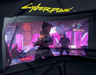 Cyberpunk 2077 Website Redesign