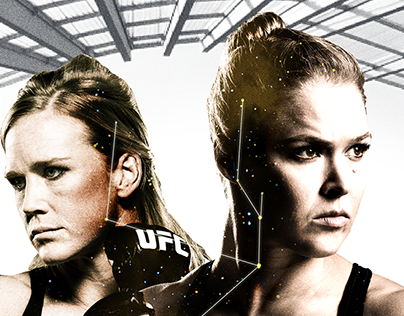Ronda Rousey Key Art Comps