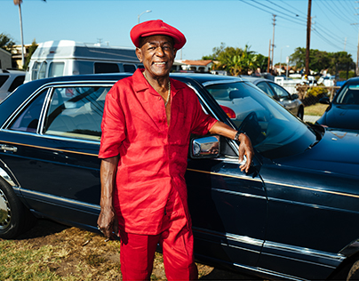 BLUES SUNDAY - South Central, Los Angeles