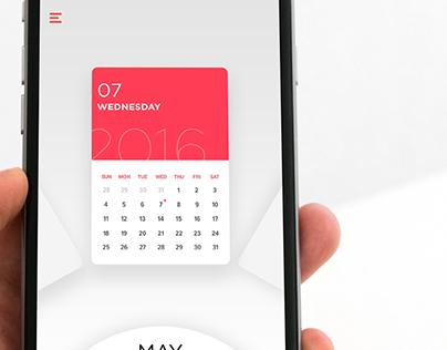 Concept - Calendar Application
