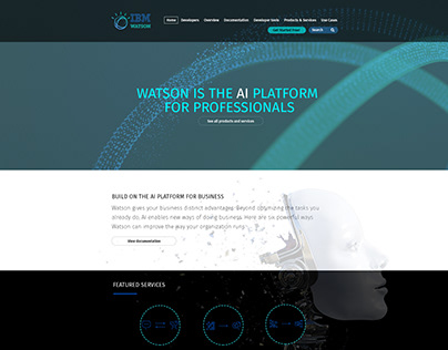 IBM Watson Website Redesign