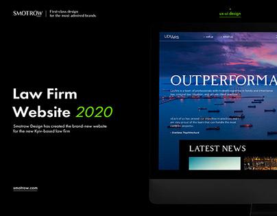 Lexars | Law Firm Website 2020
