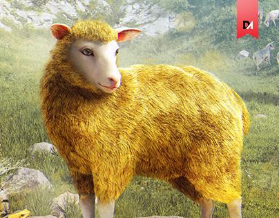 Gold Sheep
