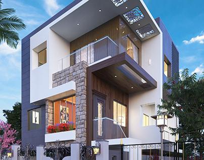 Modern Villa Exterior Design