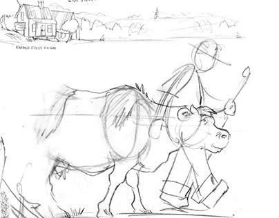 Harper Collins Publishers Farmer Freds Cow