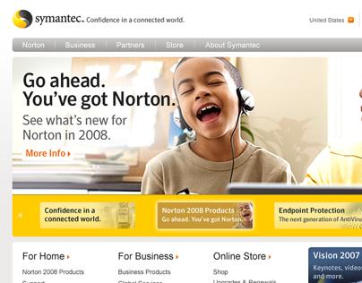 Symantec Website