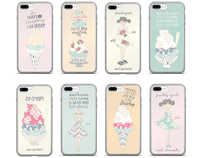 Illustrated Phone Collection