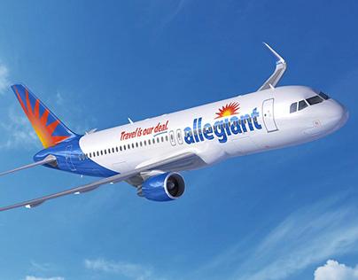 Allegiant Air Rebrand