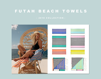 FUTAH BEACH TOWELS || 2018 collection