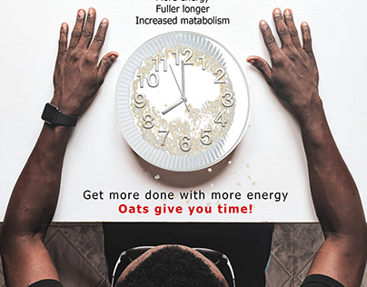 Print Ad - Make Time with Oats