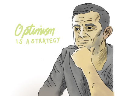 Gary Vee Drawing