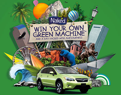 Naked Juice Advertising Campaign
