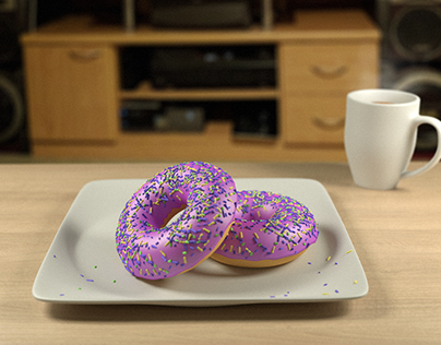 Learning Blender - Donut Render